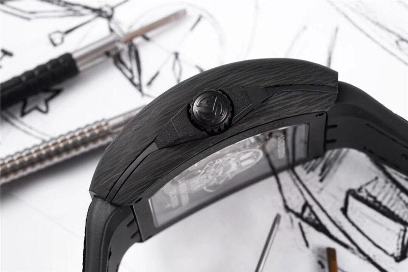TW厂法穆兰Vanguard Racing镂空腕表做工品质如何_复刻表测评-第11张
