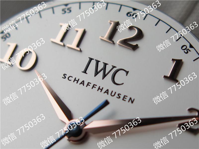 TW厂万国达文西系列三针皮表带款复刻表拆解测评-第22张