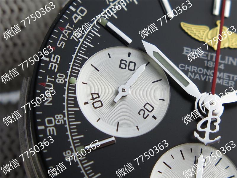 JF厂百年灵航空计时黑色复刻表拆解测评-第17张