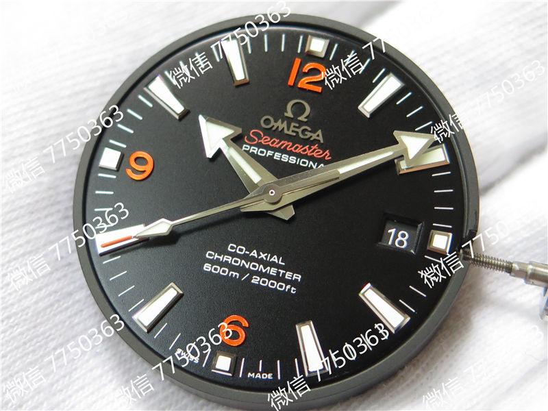VS厂欧米茄海马600米橙色字黑色圈复刻表拆解测评