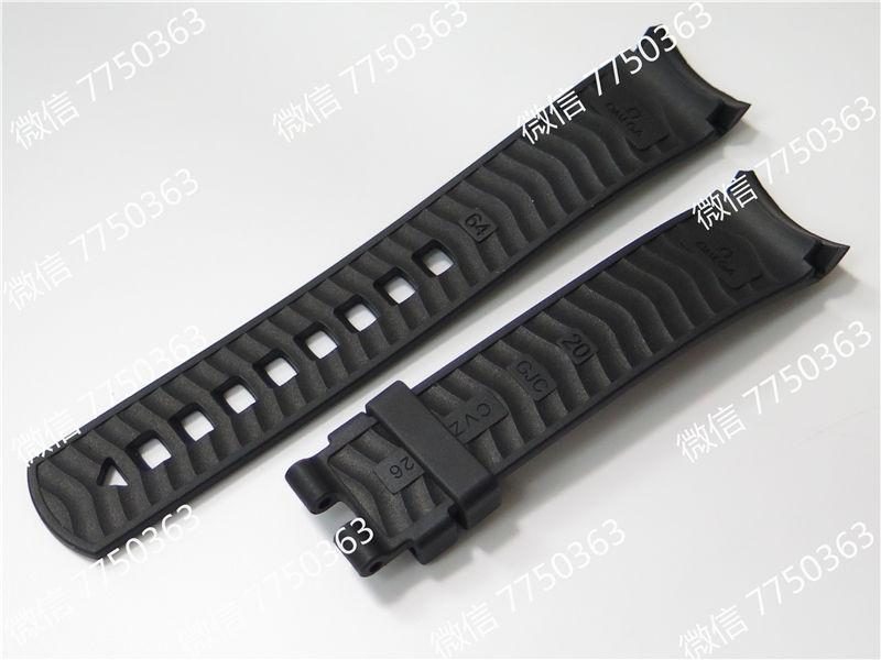 VS厂欧米茄海马300米黑面波浪纹胶带款复刻表拆解测评-第18张