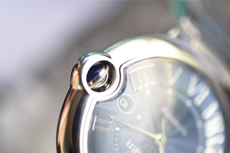 V6厂卡地亚蓝气球42mm蓝面做工如何_复刻表测评