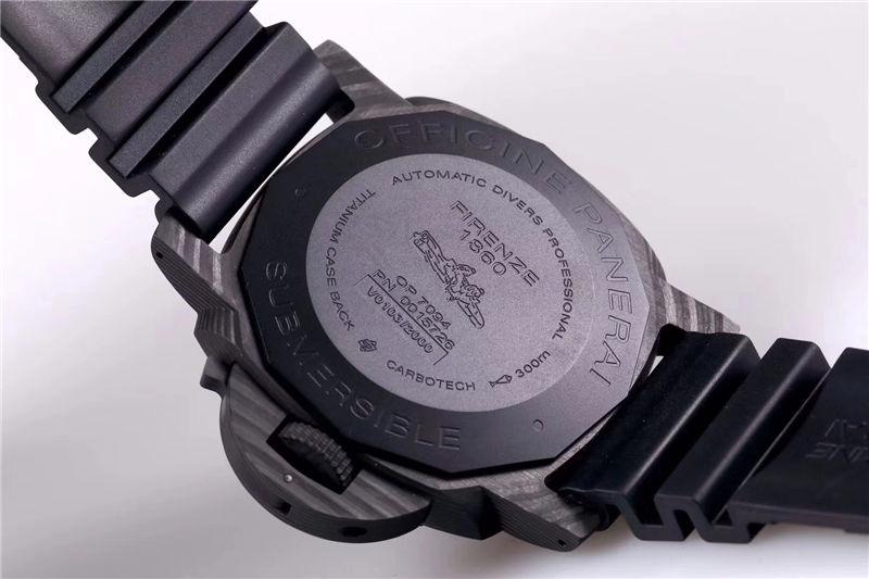 VS厂沛纳海PAM01616锻造壳套P9010自动机芯_复刻表测评-第9张