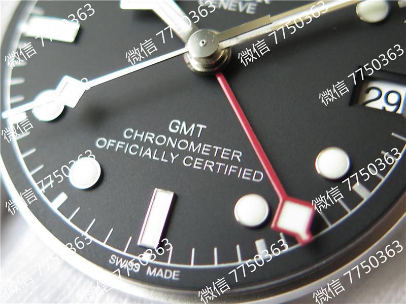 ZF厂帝陀格林尼治GMT红蓝圈复刻表拆解测评-第12张