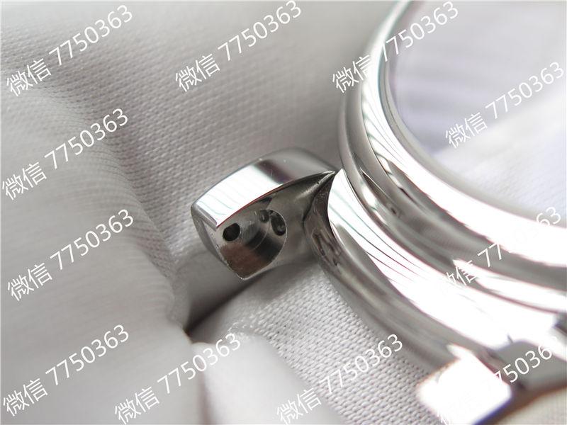 TW厂万国达文西系列三针皮表带款复刻表拆解测评-第33张