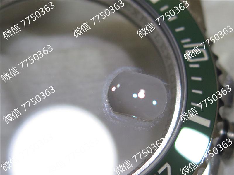 VR厂劳力士潜航者绿鬼316钢2824机芯复刻表拆解测评-第33张