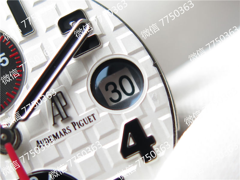 JF厂爱彼皇家橡树离岸型系列AP26170ST小熊猫复刻表拆解测评-第31张