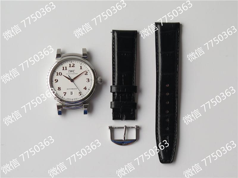 TW厂万国达文西系列三针皮表带款复刻表拆解测评-第3张