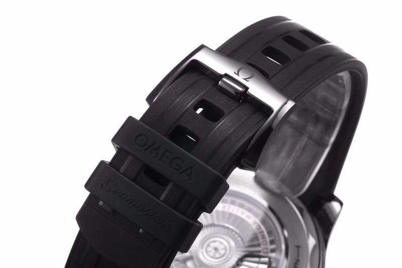 VS厂欧米茄海马300米黑陶瓷表壳_复刻表测评-第9张