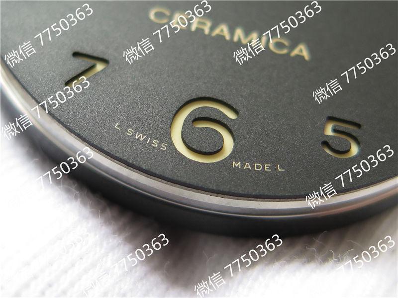 VS厂沛纳海pam438全陶瓷表壳复刻表拆解测评-第6张