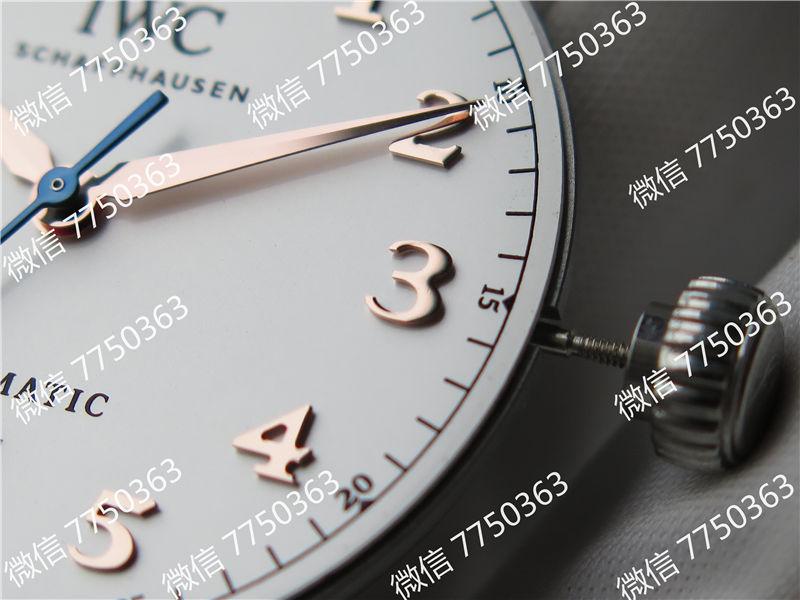 TW厂万国达文西系列三针皮表带款复刻表拆解测评-第27张