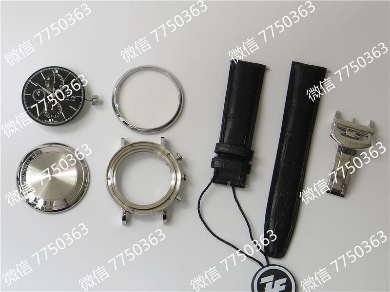 ZF厂万国波涛菲诺计时7750机芯IW391008复刻表拆解测评