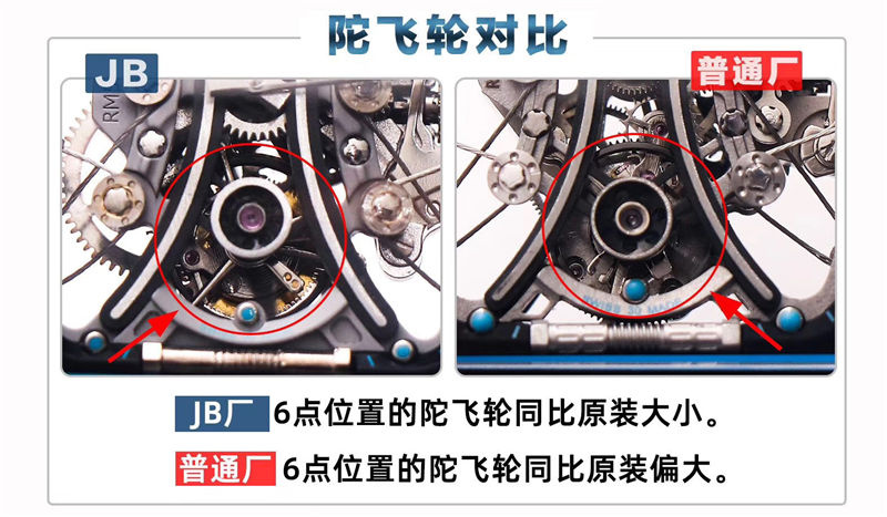 JB厂V2版理查德米勒RM53-01陀飞轮_复刻表测评-第3张