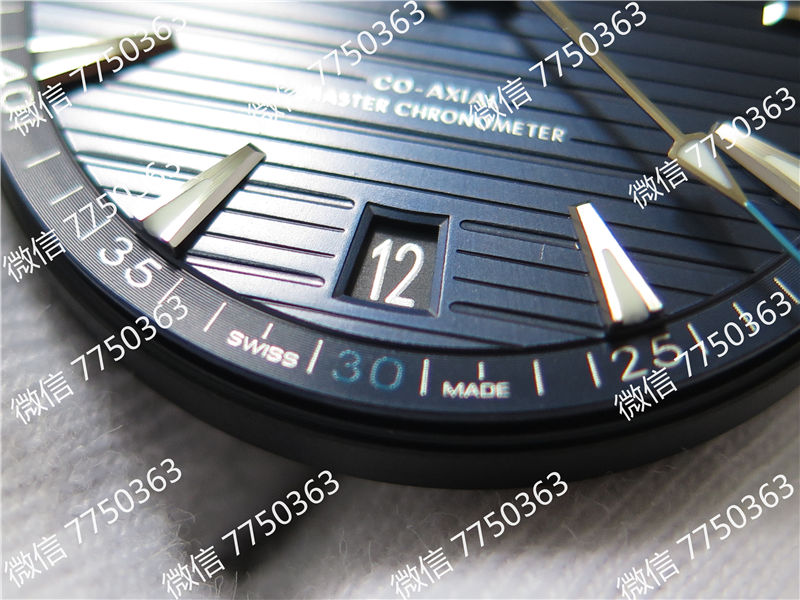 VS厂欧米茄海马150米深蓝色面复刻表拆解测评