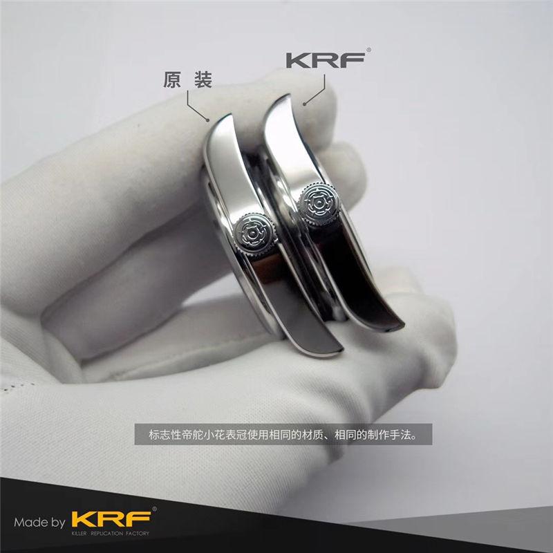 KRF厂V3版帝舵碧湾79500_复刻表与正品对比测评