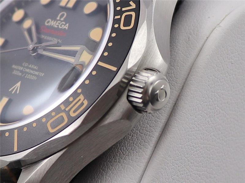 VS厂欧米茄邦德007无暇赴死复刻表对比市场版本-如何辨别VS厂海马007钛壳-第8张
