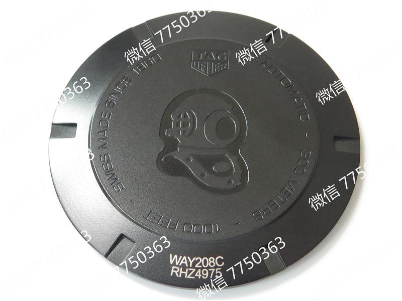 V6厂豪雅竞潜PVD黑色壳复刻表拆解测评