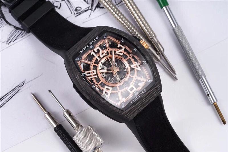 TW厂法穆兰Vanguard Racing镂空腕表做工品质如何_复刻表测评-第2张