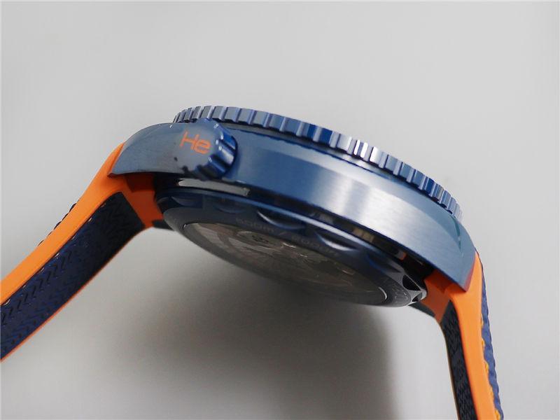 VS厂欧米茄海马600碧海之蓝陶瓷表_复刻表测评-第7张