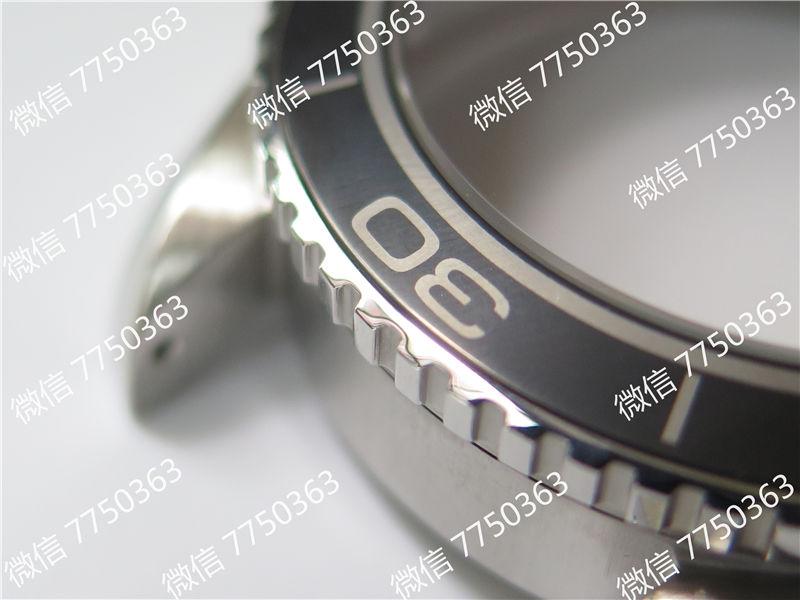 VS厂欧米茄海马600米钢字胶带款39.5mm复刻表拆解测评-第10张