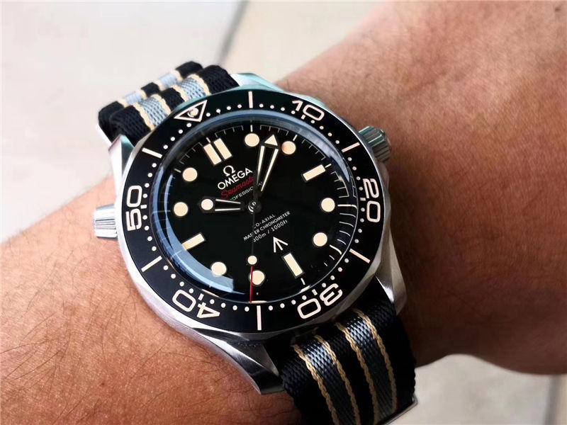 VS厂欧米茄邦德007无暇赴死复刻表对比市场版本-如何辨别VS厂海马007钛壳-第22张