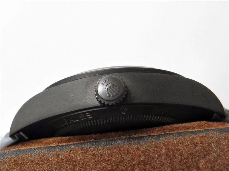 JB厂劳力士Label Noir蚝式世界上第一只陀飞轮_复刻表测评-第15张