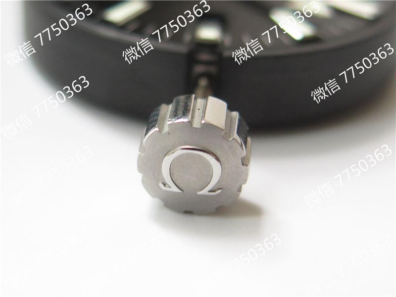 VS厂欧米茄海马600米橙色字胶带大号45.5mm复刻表拆解测评-第8张