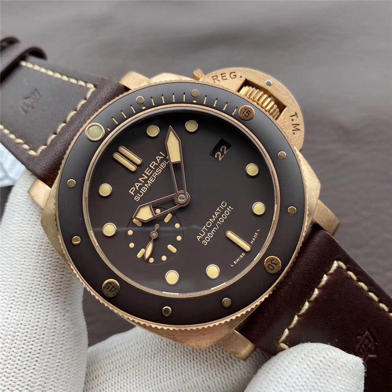 VS厂沛纳海968青铜之王47mm尺寸_复刻表测评-第4张