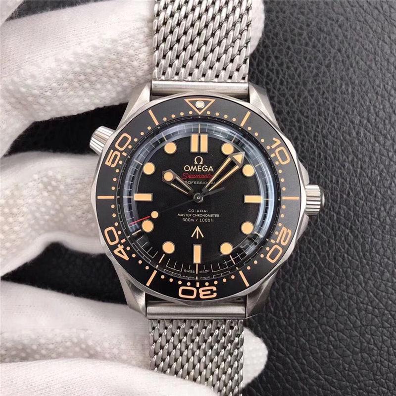 VS厂欧米茄邦德007无暇赴死复刻表对比市场版本-如何辨别VS厂海马007钛壳-第15张