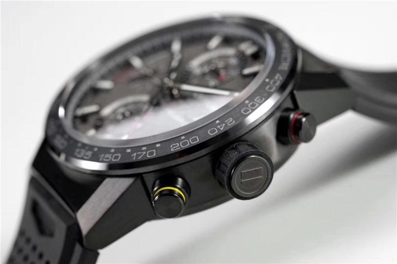 XF厂泰格豪雅卡莱拉月球表面Heuer 01 CLEP特别款_复刻表与正品对比测评-第16张