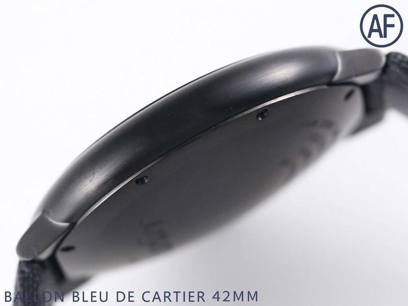 AF厂卡地亚蓝气球黑骑士WSBB0015_复刻表测评-第6张