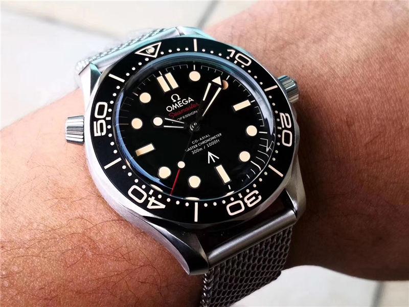 VS厂欧米茄邦德007无暇赴死复刻表对比市场版本-如何辨别VS厂海马007钛壳-第23张