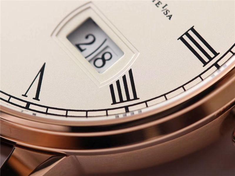 V9厂格拉苏蒂原创议员系列大日历月相_复刻表与正品对比测评-第40张