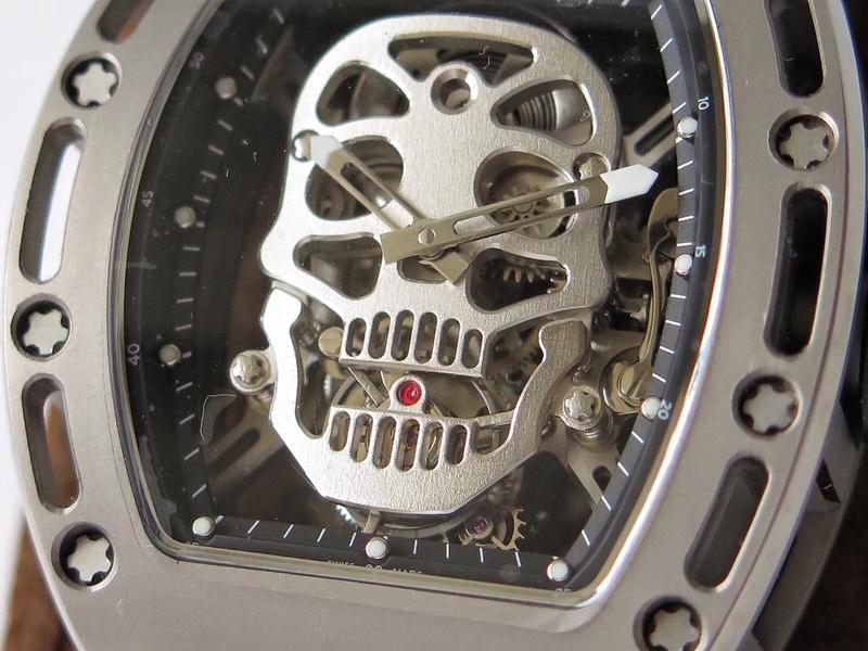 EUR厂理查德米勒RM052骷髅头陀飞轮_复刻表测评