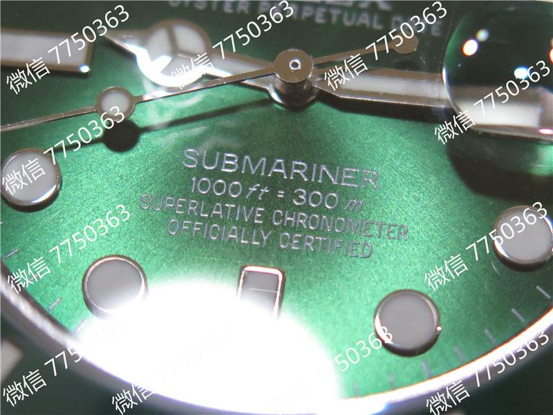 VR厂劳力士潜航者绿鬼316钢2824机芯复刻表拆解测评-第6张