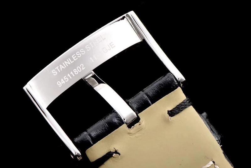TW厂欧米茄蝶飞真动能小三针白盘_复刻表与正品对比测评