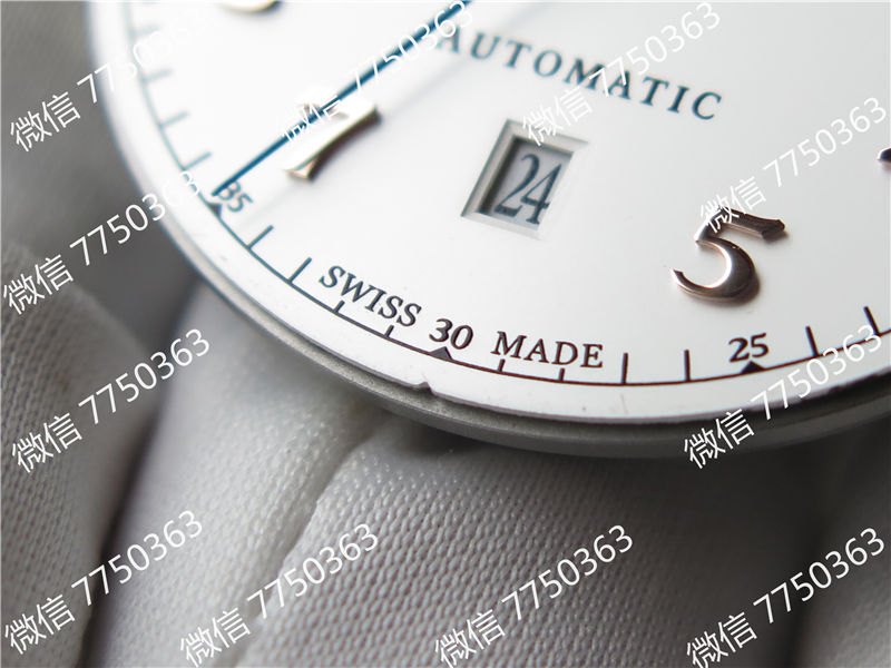 TW厂万国达文西系列三针皮表带款复刻表拆解测评-第25张
