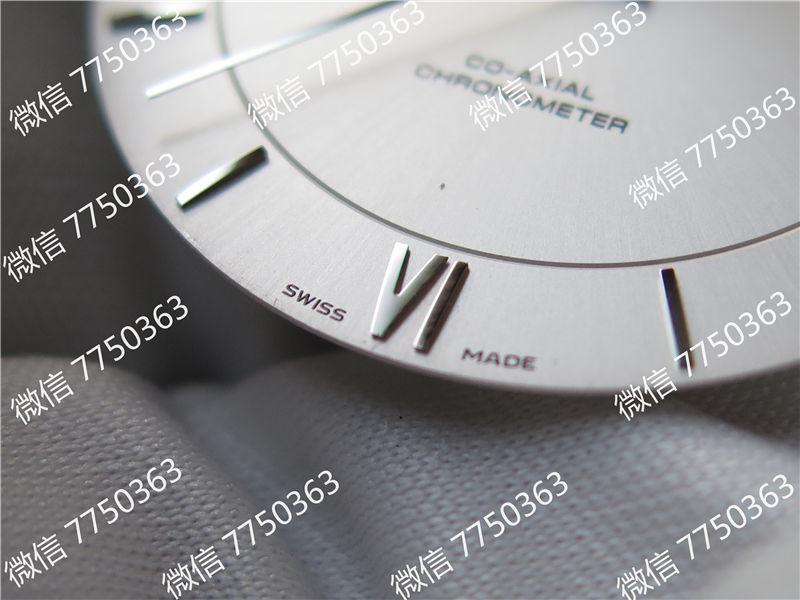 MKS厂欧米茄蝶飞系列黑色皮带白色面复刻表拆解测评