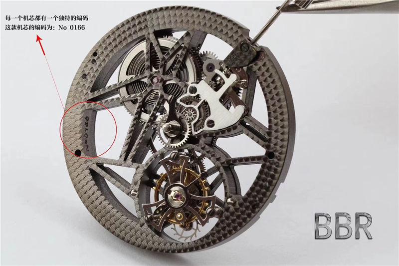 BBR厂罗杰杜彼V3版王者系列镂空陀飞轮RDDBEX0392_复刻表测评-第16张