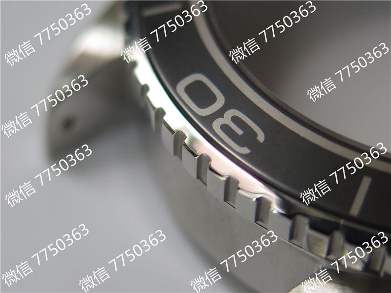 VS厂欧米茄海马600米橙色字胶带大号45.5mm复刻表拆解测评-第13张