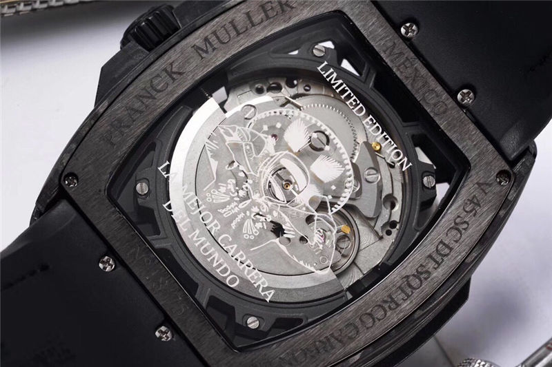 TW厂法穆兰Vanguard Racing镂空腕表做工品质如何_复刻表测评-第10张