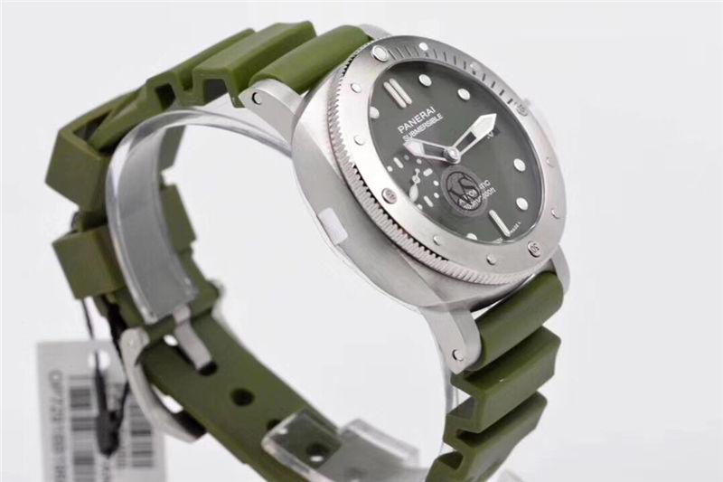 VS厂沛纳海pam1055绿海魂42mm_复刻表测评-第5张