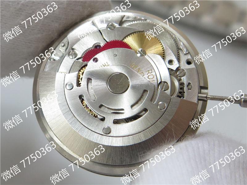 GM厂劳力士格林尼治红蓝圈116719三珠链3186机芯复刻表拆解测评-第8张