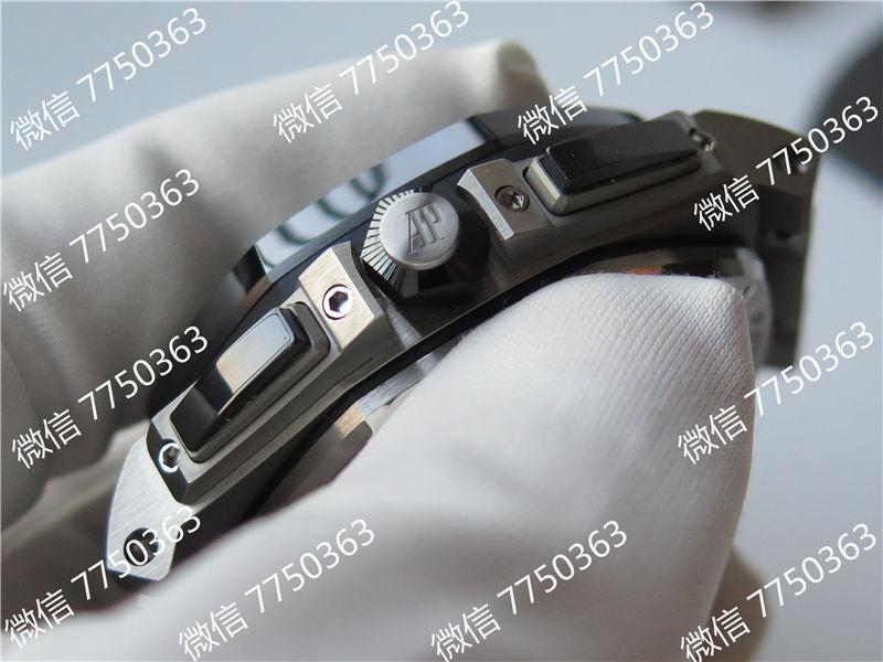JF厂爱彼皇家橡树离岸型系列AP26400熊猫眼复刻表拆解测评-第5张