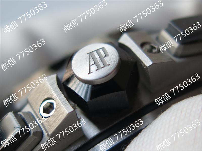 JF厂爱彼皇家橡树离岸型系列AP26400熊猫眼复刻表拆解测评-第6张