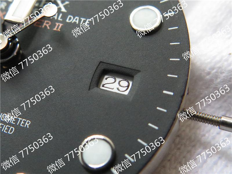 GM厂劳力士探险家Ⅱ黑色面3187机芯216570-77210复刻表拆解测评-第7张