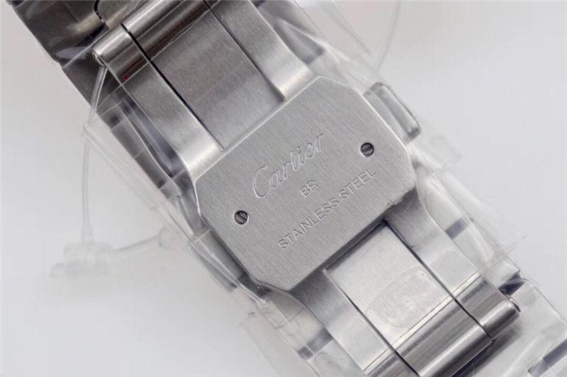 V6厂卡地亚ADLC碳镀层表圈山度士_复刻表测评