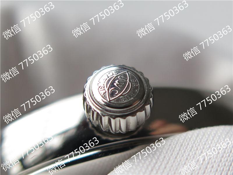 TW厂万国达文西系列三针皮表带款复刻表拆解测评-第9张