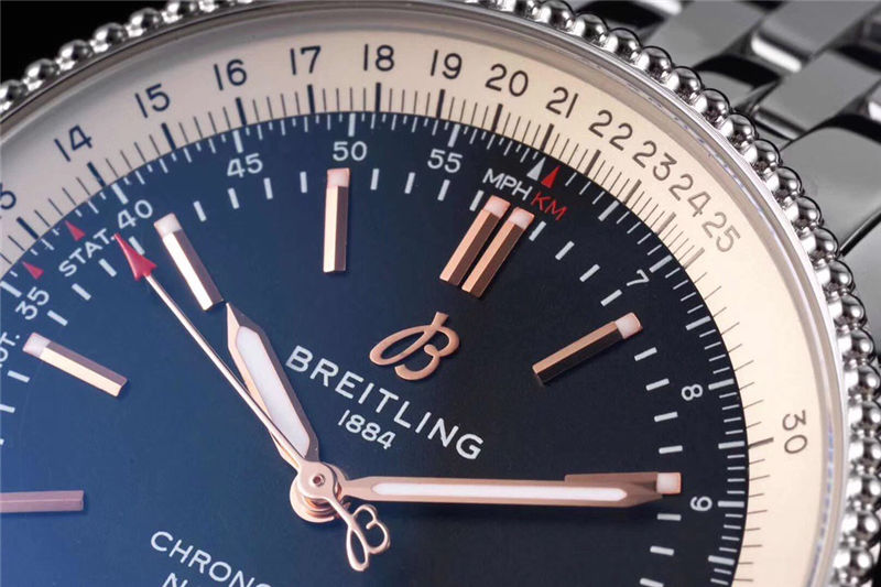 TF厂百年灵BREITLING航空计时_复刻表测评-第5张