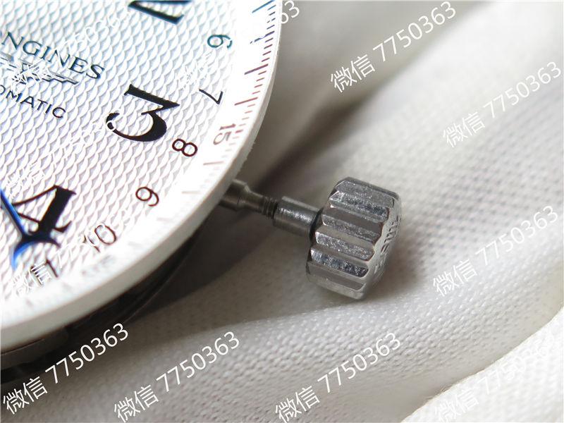 TW厂浪琴名匠系列月相八针7751机芯复刻表拆解测评
